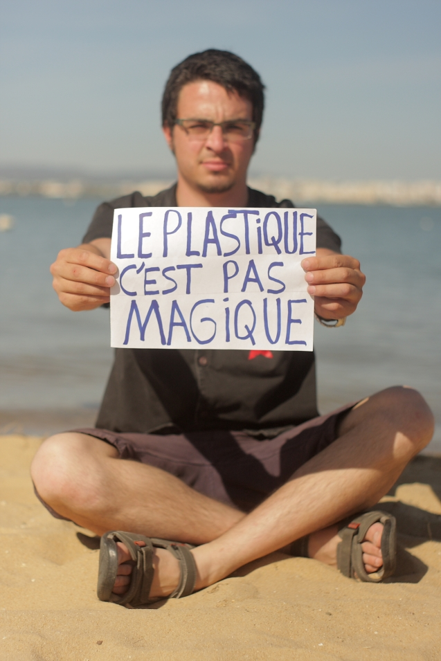 "Gabriel Saada (France) message is : "" I will fight for solutions to use more sustainable materiasl!!"""