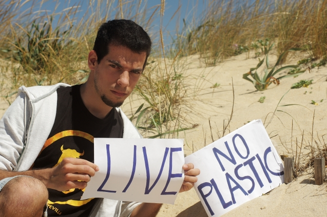 "Mauro Hilário (Portugal) message is : ""Responsible use of plastic will keep our Global Ecosystem Alive!"""