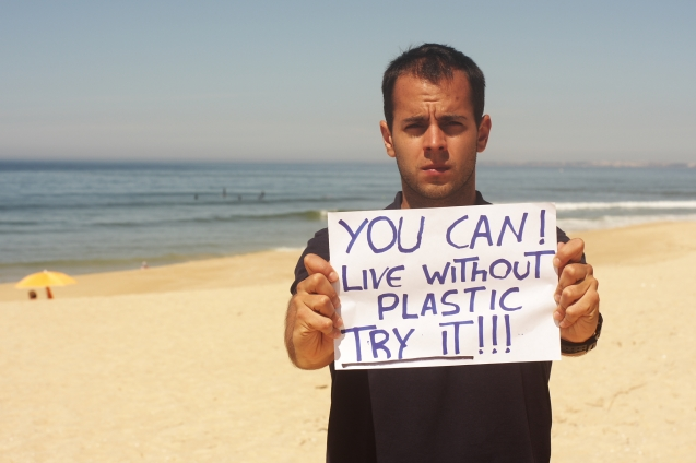 "Ricardo Coelho (Portugal) message is : ""Try to find alternatives before you quit to be more sustainable!!"""
