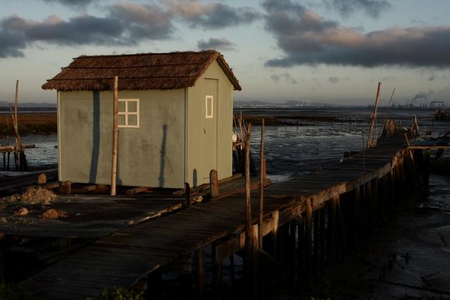 Cassasqueira - small house at dawn.